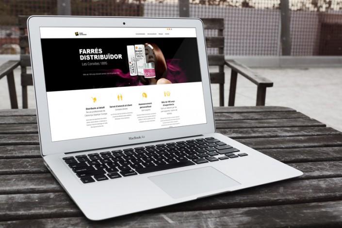 Disseny Web Farres Distribuidor Barcelona