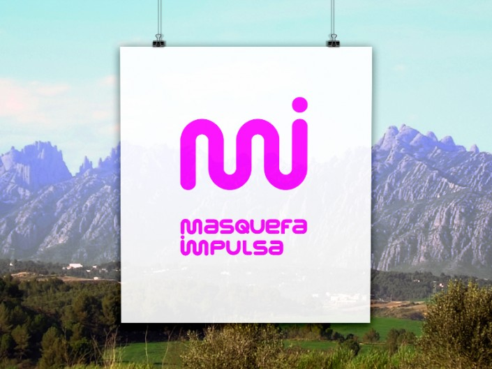 Crear logotip disseny gràfic per Masquefa Impulsa