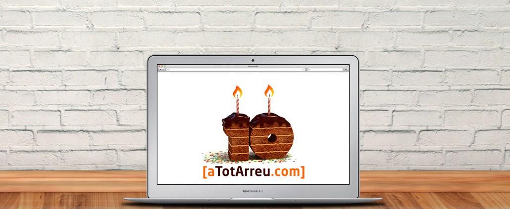 10 anys fent webs professionals