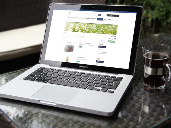 Crear botiga online per By Sabrina Shop, de Barcelona.