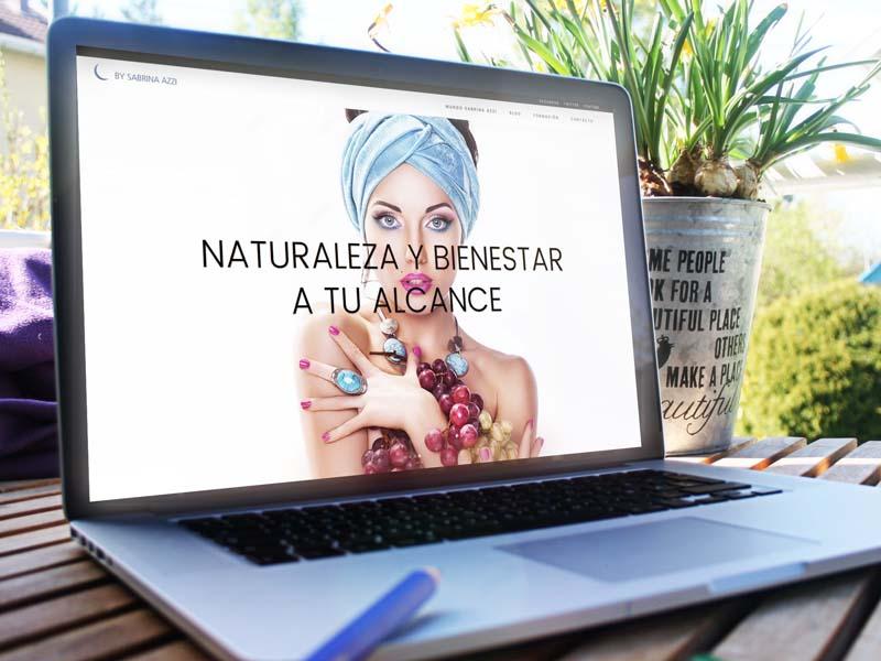 Disseny web professional By Sabrina, Barcelona.