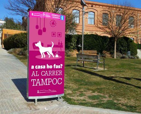 Disseny campanya de sensibilització per l'Ajuntament de Masquefa (Anoia).