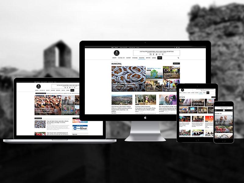 Disseny Web d'un mitjà de Comunicació Online