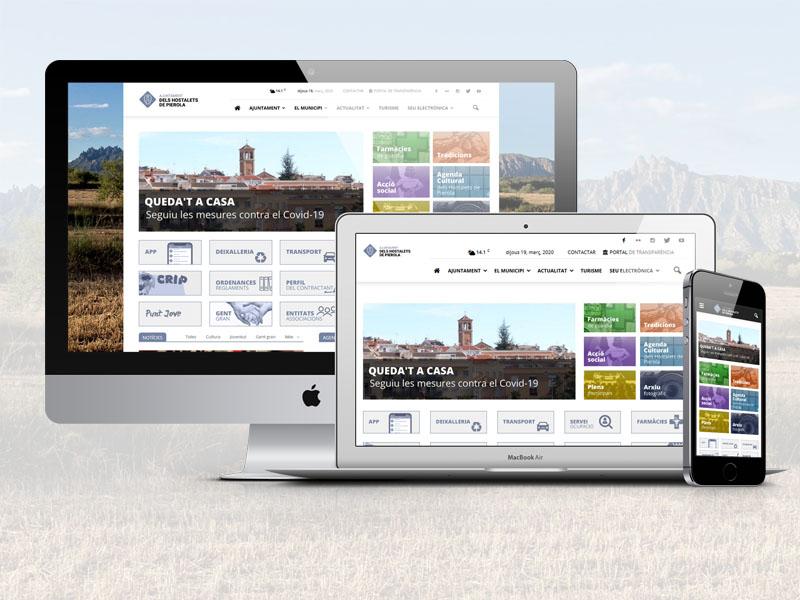 Serveis web per a Ajuntaments